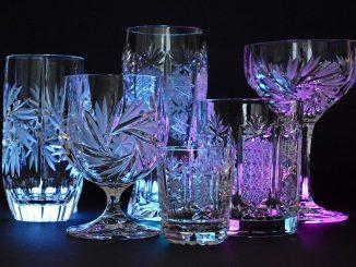 Les verres de cristal