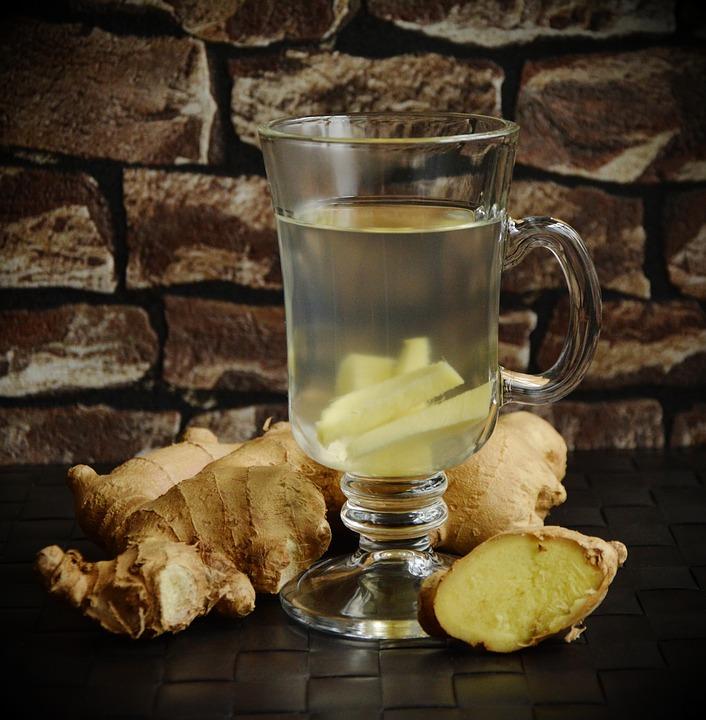 L'eau de gingembre